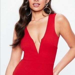 Misguided Red Maxi